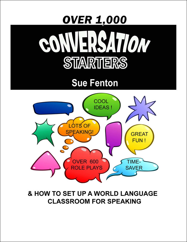 Over 1000 Conversation Starters Book