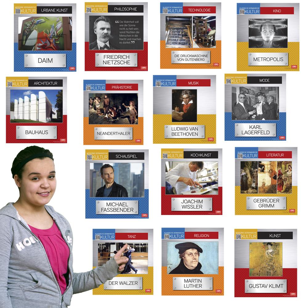 Klassische und moderne Germanische Kultur Bulletin Board Set