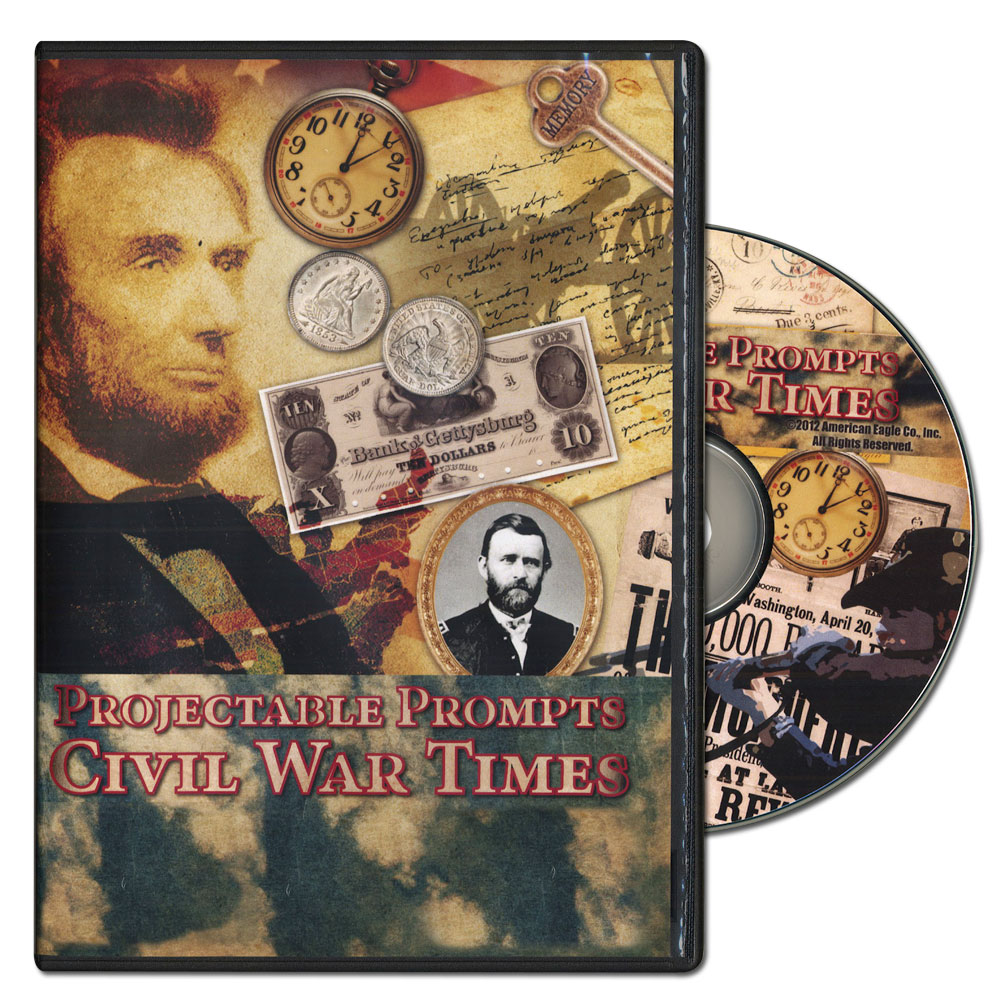 Civil War Times Projectable Prompts on CD