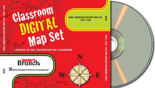 Complete Set of American History Maps