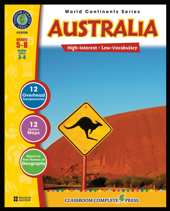 Australia Activity Book