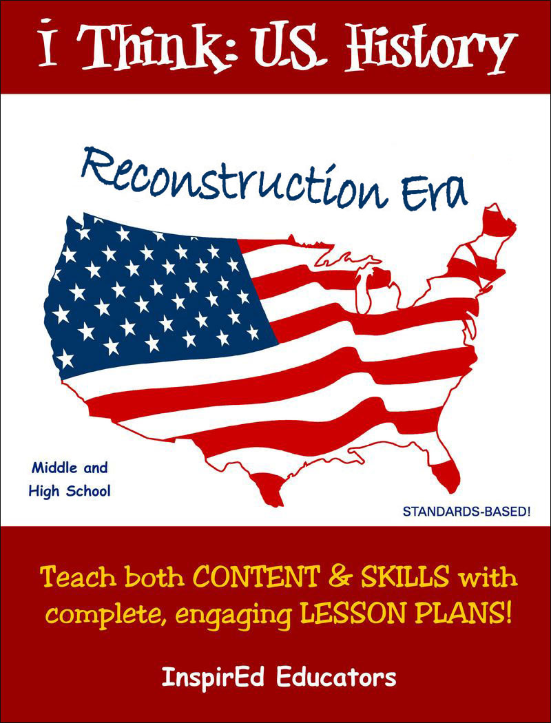 i Think: U.S. History, Reconstruction Era Activity Book