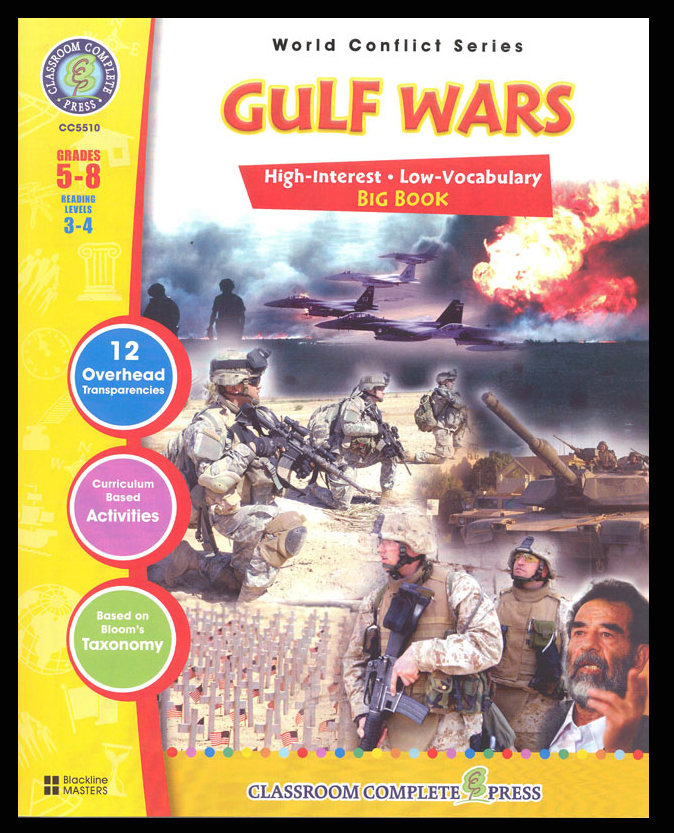 Gulf Wars Activity Book
