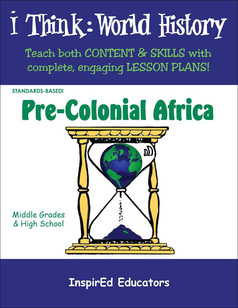 i Think: World History, Pre-Colonial Africa Activity Book