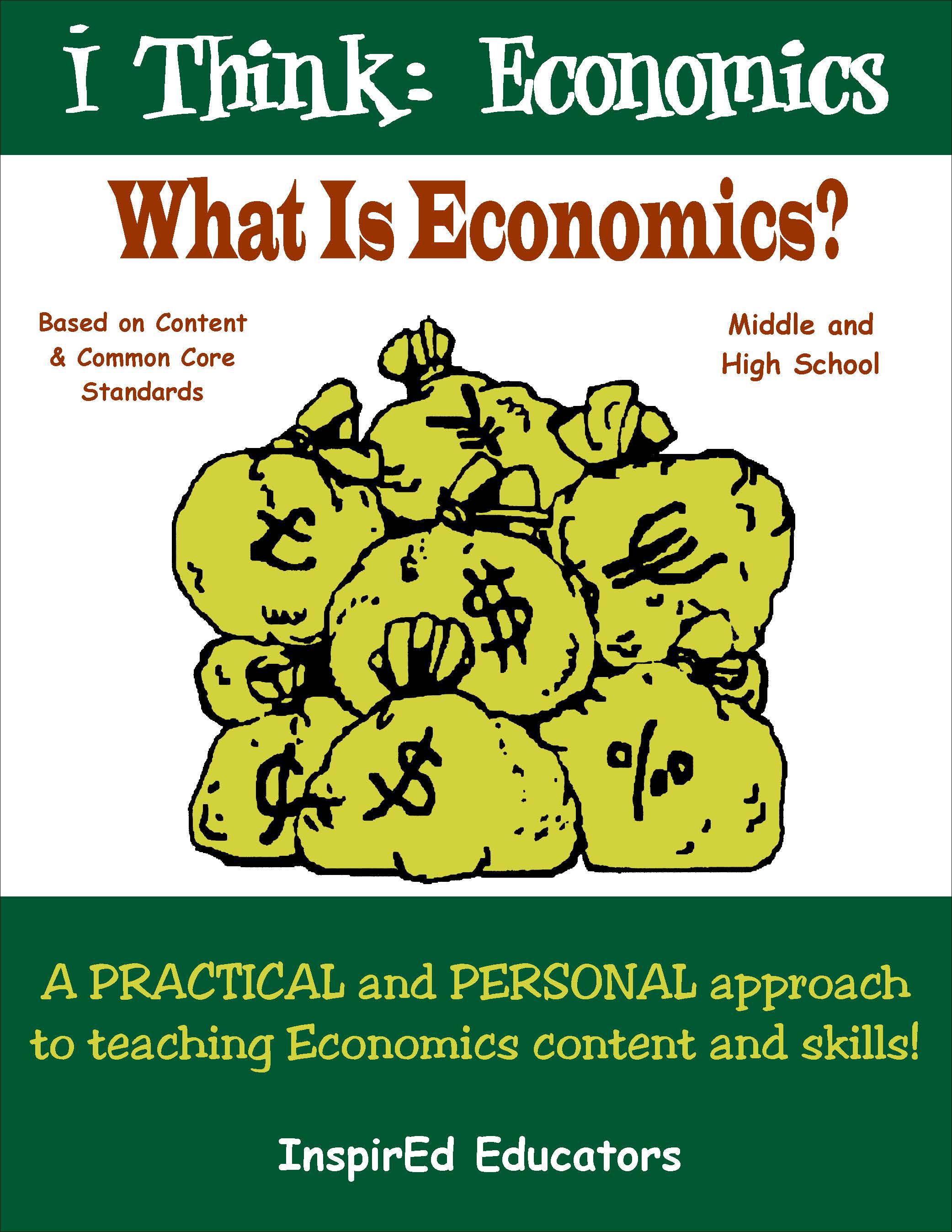 i Think: Economics, What is Economics? Activity Book