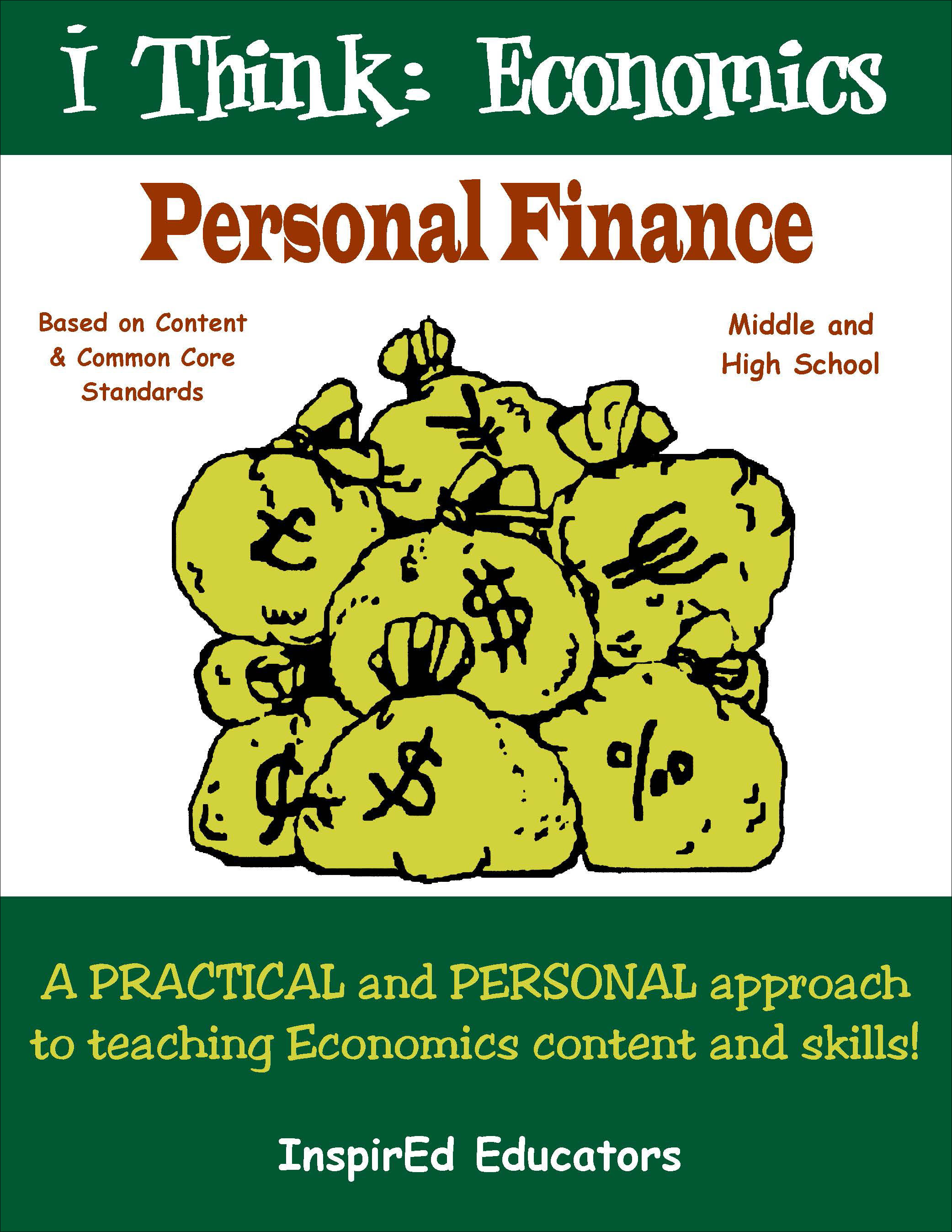 i Think: Economics, Personal Finance Activity Book