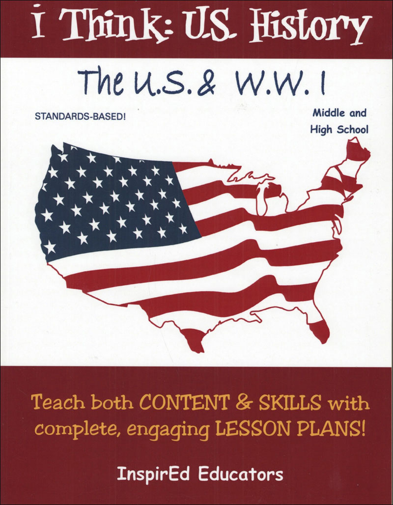 i Think: U.S. History, The U.S. & WWI Activity Book