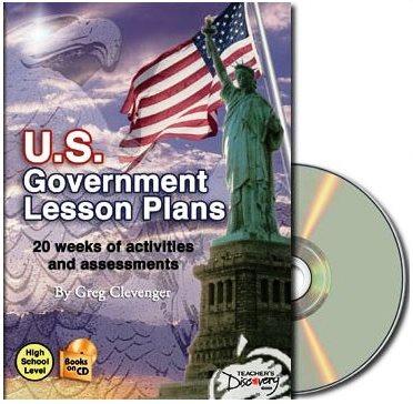 U.S. Government Lesson Plans Book