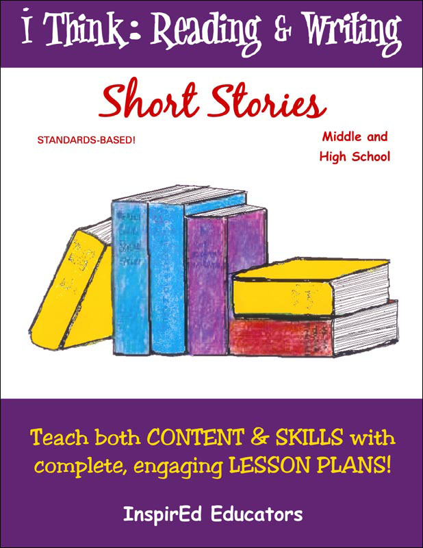 i Think: Reading & Writing, Short Stories Activity Book