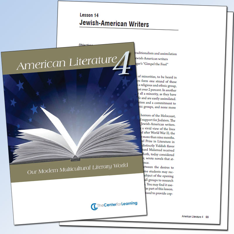 American Literature, Volume 4: Our Modern Multicultural Literary World