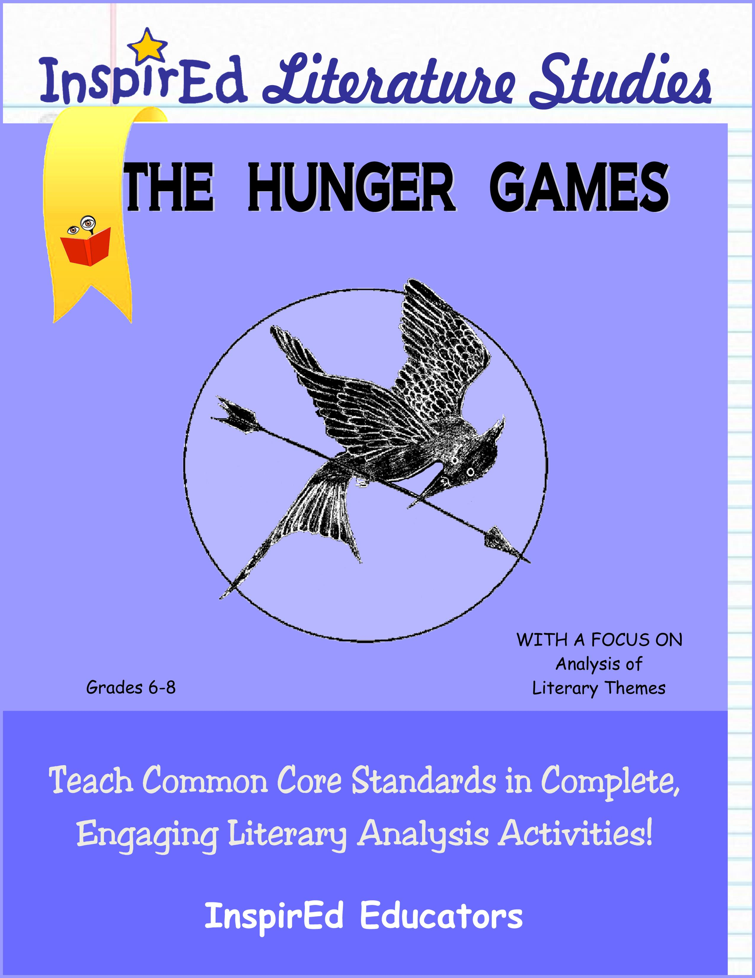 The Hunger Games Literature Studies Book