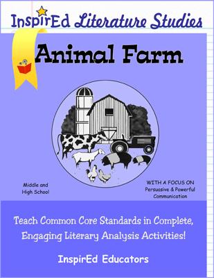 Animal Farm Literature Studies Book