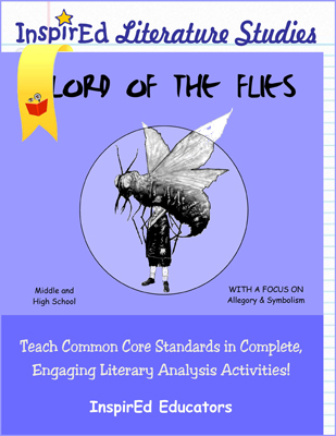Lord of the Flies Literature Studies Book