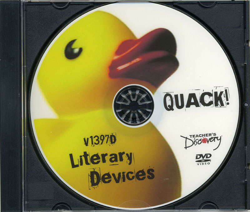 Quack! Literary Devices