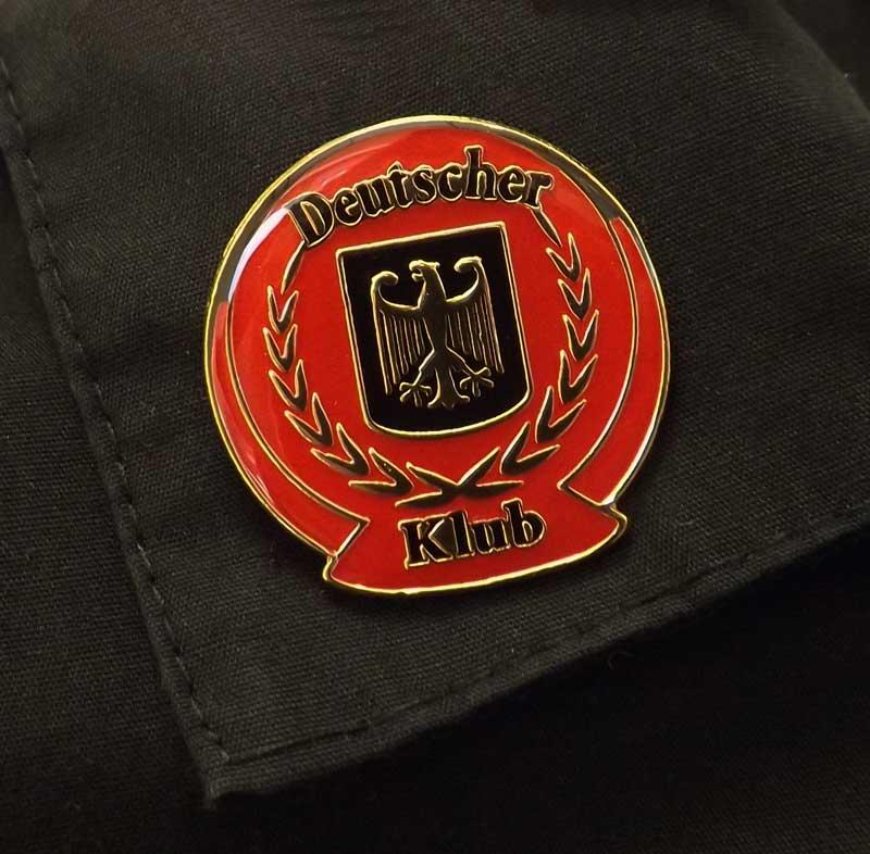 German Club Pin