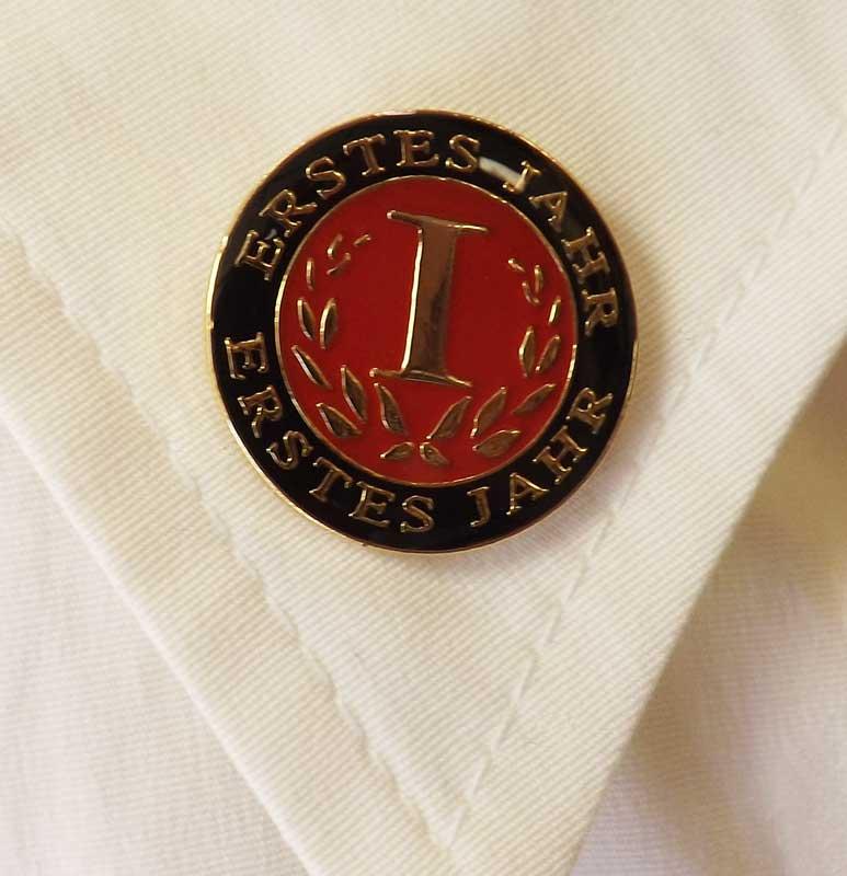 German First-Year Pin