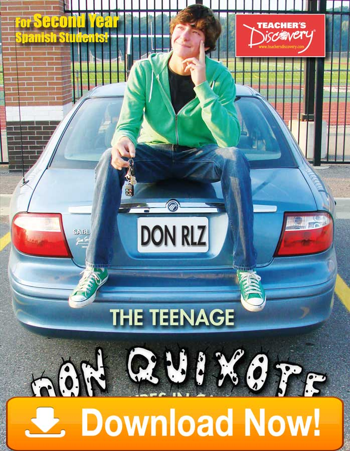 Teenage Don Quixote: Adventures in California Second-year Spanish Reader on CD