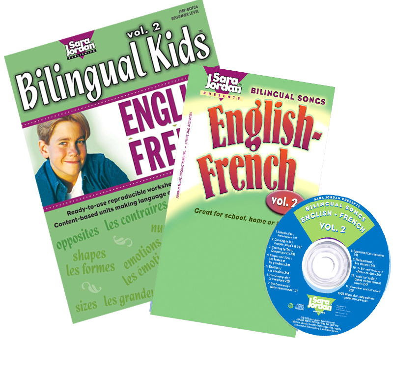 Bilingual Songs: English-French Vol. 2 CD/Book Download