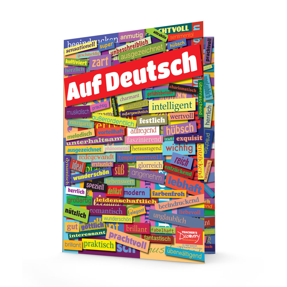 German Adjectives Folders