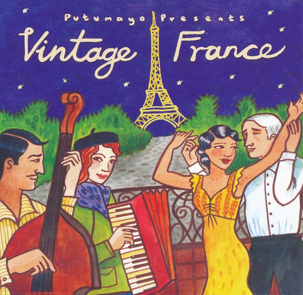 Putumayo Vintage France CD