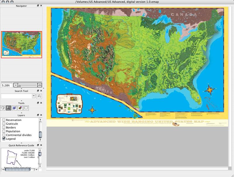 Advanced U.S.  E-maps