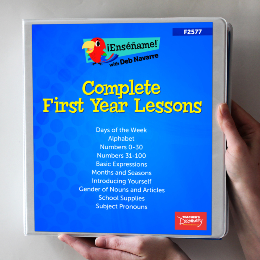 ¡Enséñame!™ Complete First Year Lessons Set of 10 Lessons