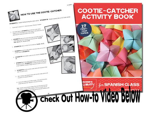 Cootie-Catcher Spanish Activity Book