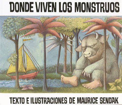 Where The Wild Things Are Spanish Book
