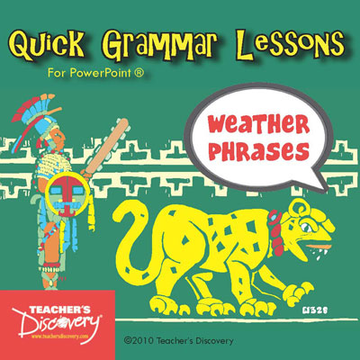 Weather Phrases in Spanish PowerPoint CD