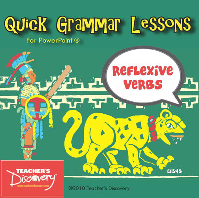 Reflexive Verbs Spanish PowerPoint CD