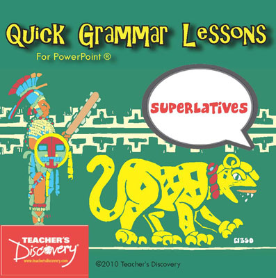 Superlatives Spanish PowerPoint CD