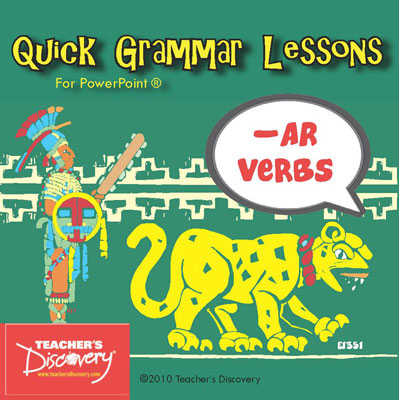 Ar Verbs Spanish PowerPoint CD
