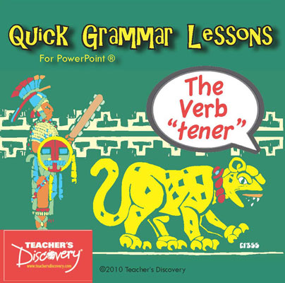 The Verb Tener PowerPoint CD