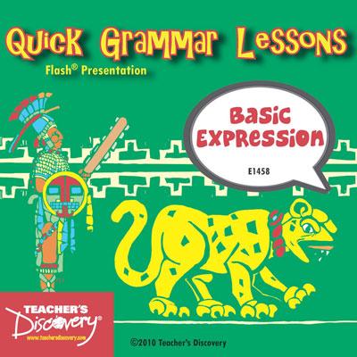 Basic Expressions Adobe Flash Presentation on CD