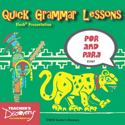 Por and Para Presentation on CD