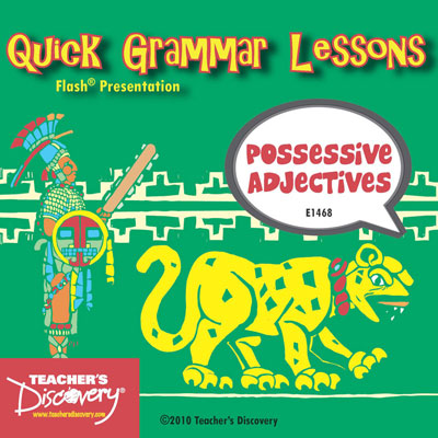 Possessive Adjectives Adobe Flash Presentation