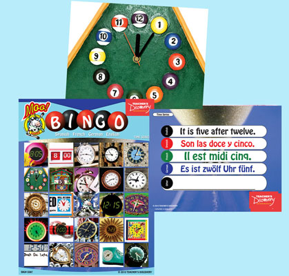 Time Bingo & Flashcards (2010)