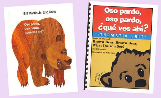 Oso Pardo, Oso Pardo Spanish Book and Thematic Unit