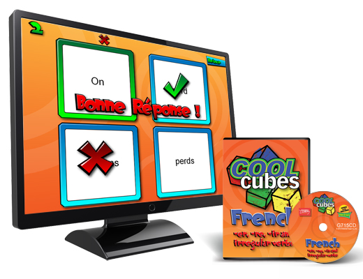 Cool Cube™  French Digital Game