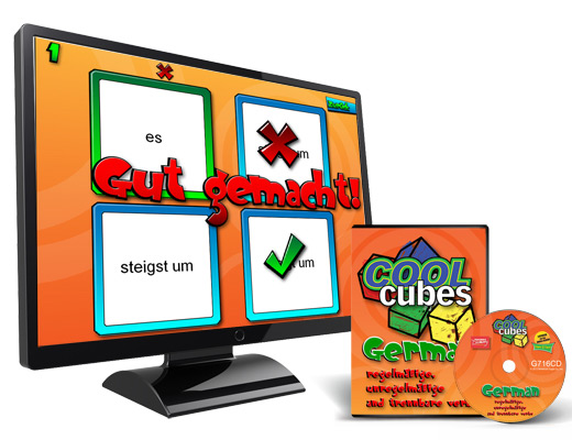 Cool Cube™  German Digital Game