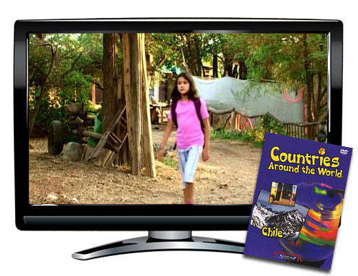 Chile Countries Around the World DVD