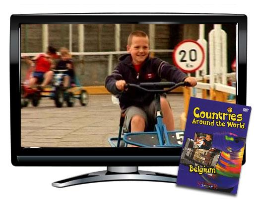 Belgium Countries Around the World DVD