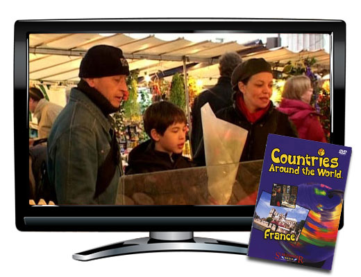 France Countries Around the World DVD