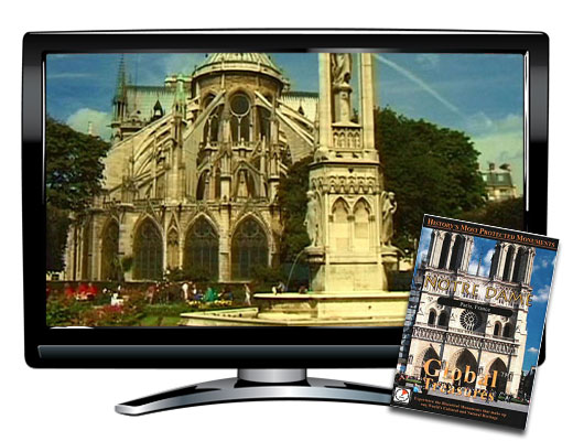 Global Treasures™ Notre Dame Paris DVD