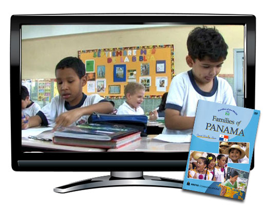 Families of Panama Spanish DVD