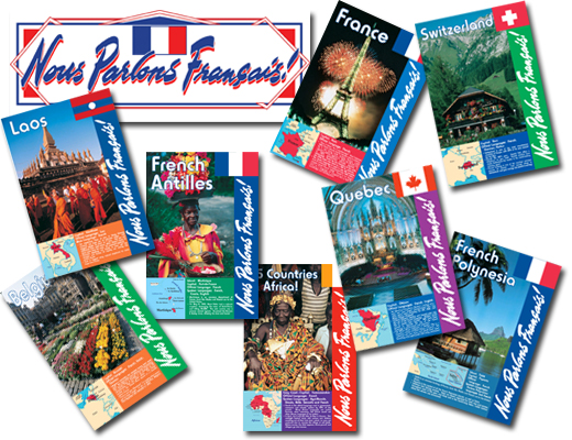 We Speak French Bulletin Board Set