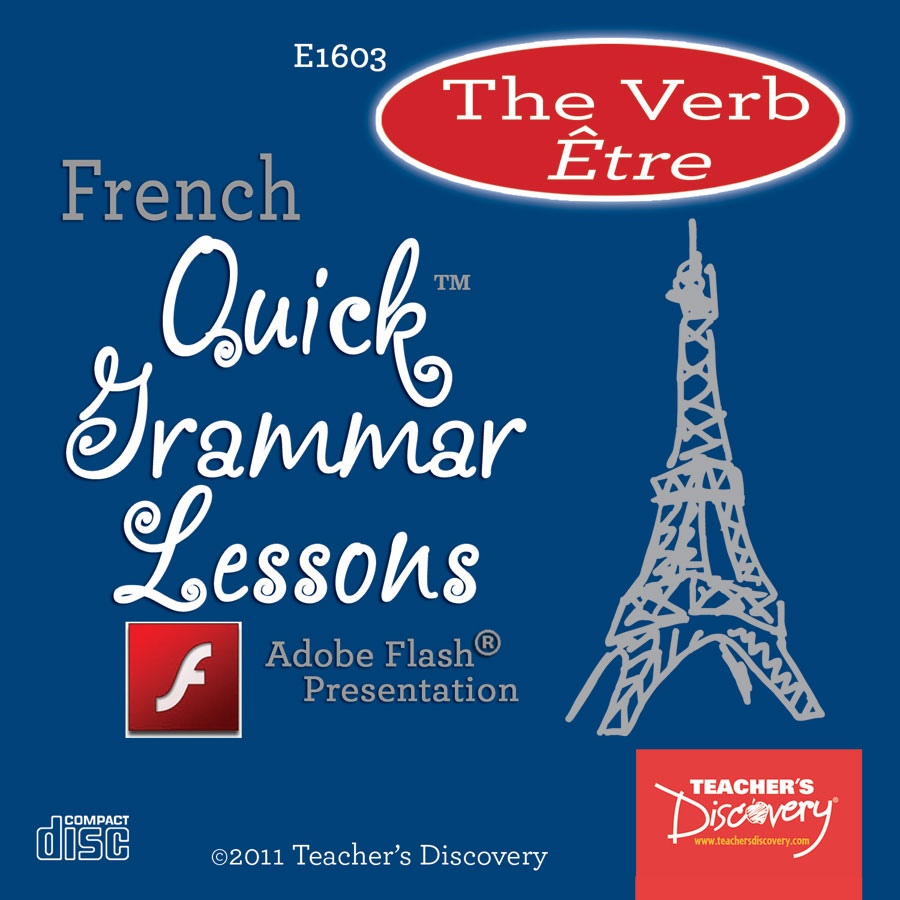 Verb Être French Adobe Flash Presentation