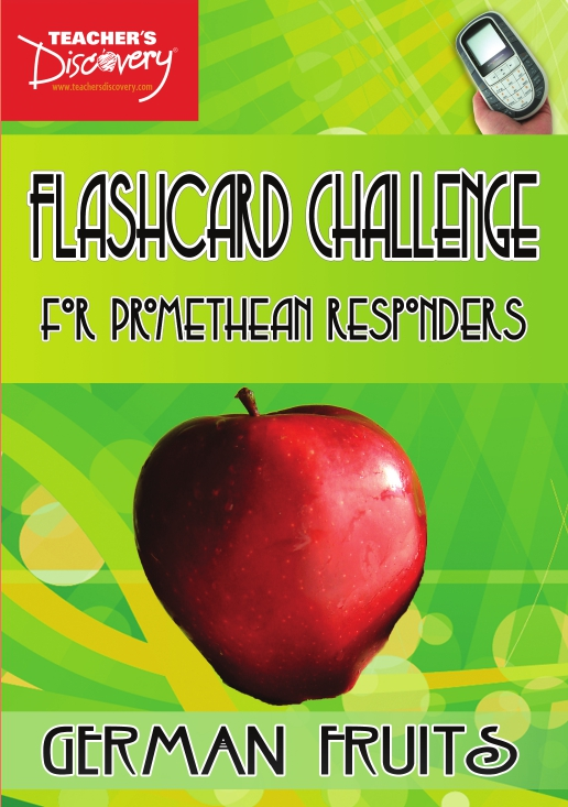 German Digital Flashcard Challenge Promethean Set of 10