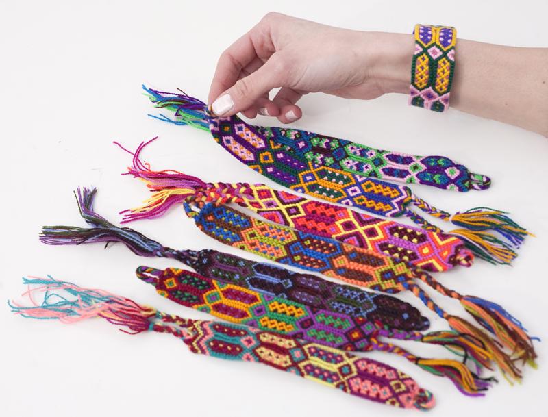 Guatemalan Woven Bracelet