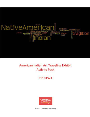 American Indian Art Exhibit Activity Packet Download